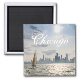 Great Lakes Chicago Magnet