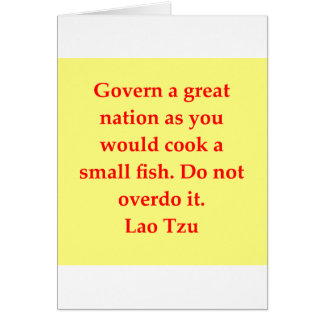 great Lao Tzu Quote Card