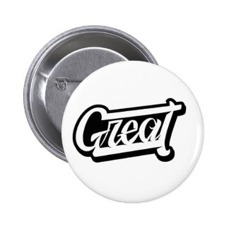 Great Lettering 2 Inch Round Button