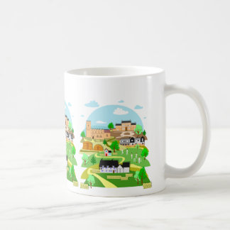 Great Linford Milton Keynes mug by Robert Rusin