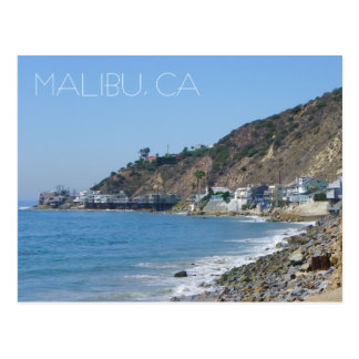 Great Malibu Postcard! Postcard