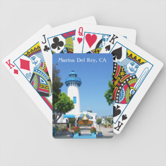 Great Marina Del Rey Playing Cards! Bicycle Playing Cards