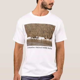 Great Meadows Concord River Canada Geese T-Shirt