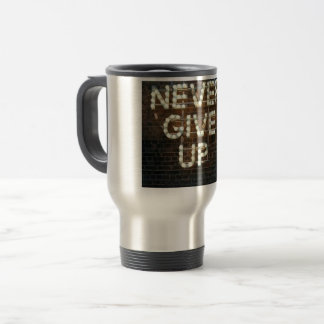 Great message for the day! travel mug