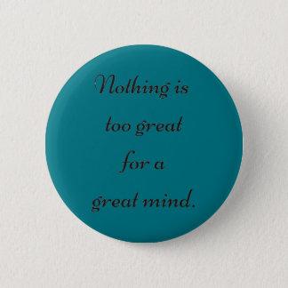 Great Mind 2 Inch Round Button