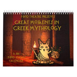 Great Moment in Greek Mythology 2011 Calendar