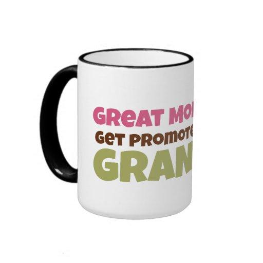 Great Moms Get Promoted to Grandma Mug