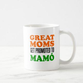 Great Moms Get Promoted To Mamo mug