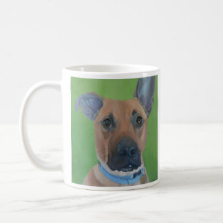 Great mug with a picture of a good looking dog!