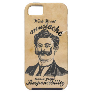 Great mustache iPhone 5 cover