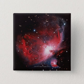 Great Nebula in Orion 2 Inch Square Button
