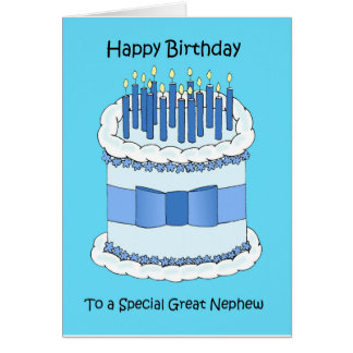 Great Nephew Happy Birthday Card