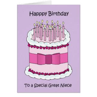 Great Niece Happy Birthday Card