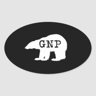Great Northern Prepper Round Sticker