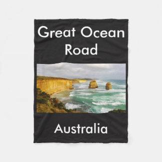 Great Ocean Road Australia Fleece Blanket