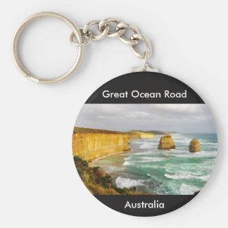 Great Ocean Road Australia Keychain