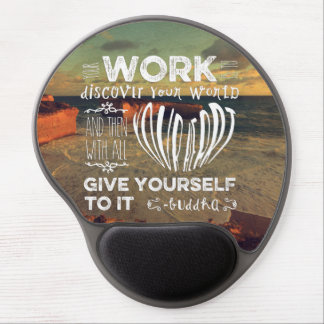 Great Ocean Road Your Work Discover World Heart Gel Mouse Mat