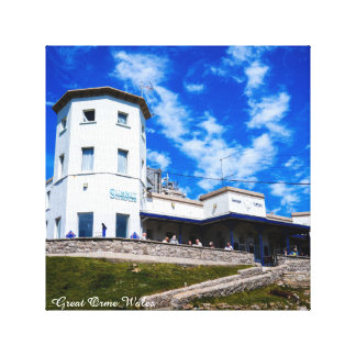 Great Orme Wales. Canvas Print