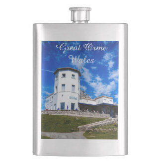 Great Orme Wales. Flask