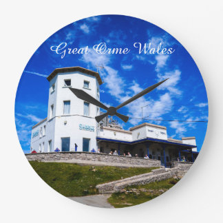 Great Orme Wales. Large Clock