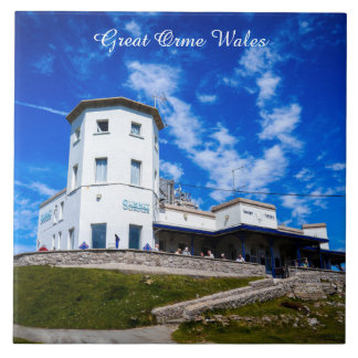 Great Orme Wales. Tile
