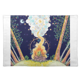 Great Outdoors Campfire Placemat