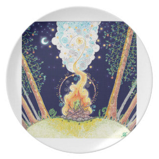 Great Outdoors Campfire Plate