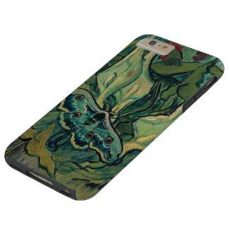 Great Peacock Emperor Moth Van Gogh Fine Art Tough iPhone 6 Plus Case