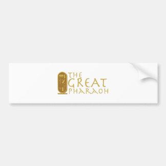 Great Pharaoh Bumper Sticker