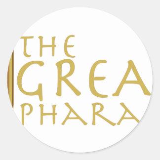 Great Pharaoh Round Sticker