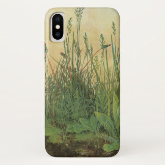 Great Piece of Turf by Albrecht Durer, Vintage Art iPhone X Case
