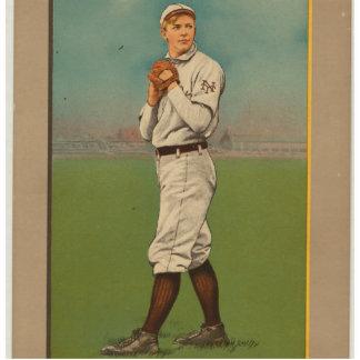 Great Pitchers Of The Golden Era - Mathewson Standing Photo Sculpture