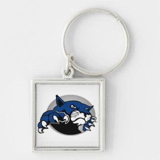 Great Plains Pop Warner Omaha Bobcats Under 12 Keychain