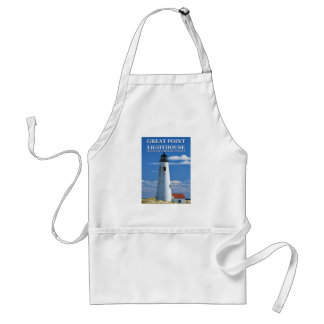 Great Point Lighthouse Nantucket MA Apron