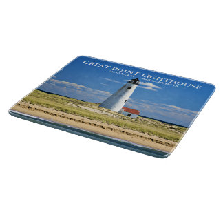 Great Point Lighthouse Nantucket MA Cutting Board