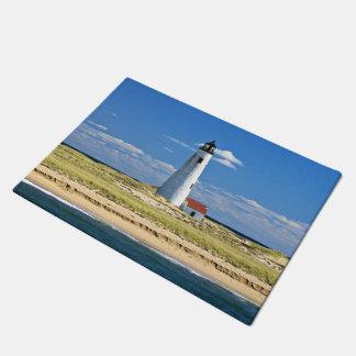 Great Point Lighthouse Nantucket MA Door Mat