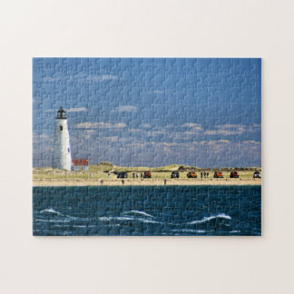 Great Point Lighthouse Nantucket MA Jigsaw Puzzle