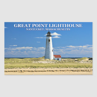 Great Point Lighthouse, Nantucket, MA Stickers