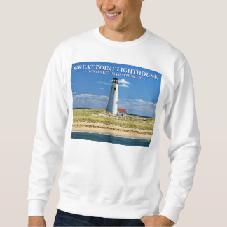 Great Point Lighthouse, Nantucket MA Sweatshirt