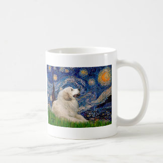 Great Pyrenees 2 - Starry Night Mug