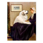 Great Pyrenees 2 - WHistler's Mother Postcard