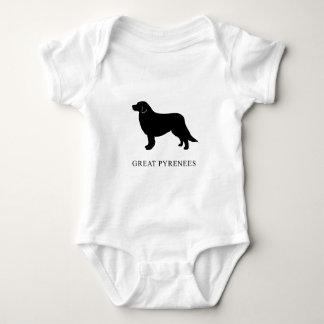 Great Pyrenees Baby Bodysuit