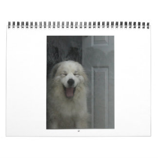 Great Pyrenees Calender Wall Calendars