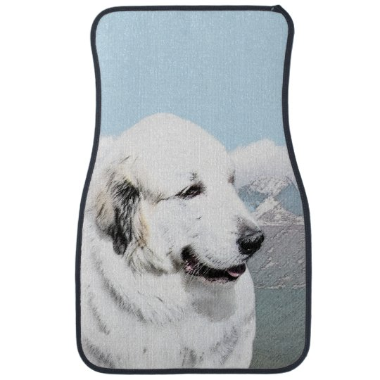Great Pyrenees Car Mat