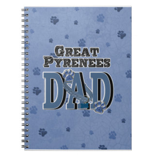 Great Pyrenees DAD Notebook