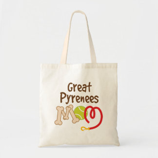 Great Pyrenees Dog Breed Mom Gift Tote Bag