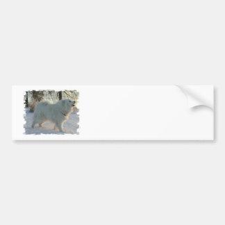 Great Pyrenees Dog  Bumper Sticker