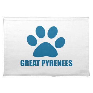GREAT PYRENEES DOG DESIGNS PLACEMAT