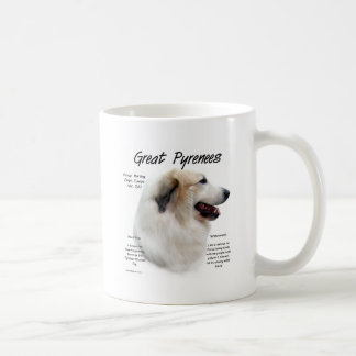 Great Pyrenees History Design Coffee Mug