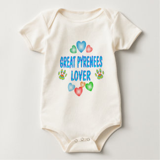 GREAT PYRENEES LOVER BABY BODYSUIT